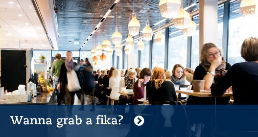 Wanna grab a fika? Photo: Eva Dalin
